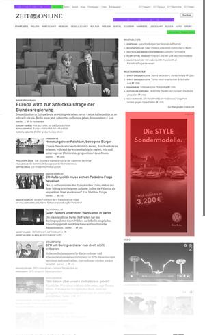 Tageszeitung Analyse Zeit Vorschau