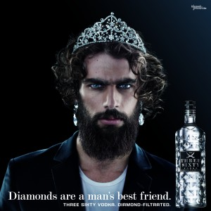 Werbekampagne November 2012: Three Sixty Vodka