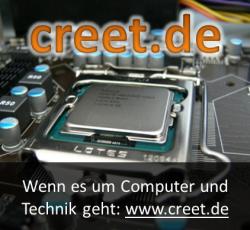 creet.de - Computer, Technik, Hardware, Smartphones und Spiele